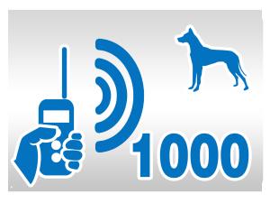 zasięg elektronicznej obroży dla psa